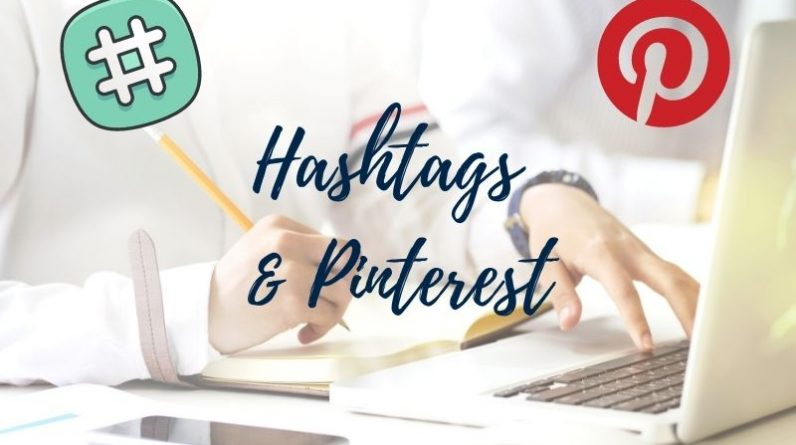use of hashtags on pinterest